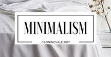 """Minimalism / Characterized by the use of simple forms or structures, with a focus on geometric or massive ones. Demonstrated by simplicity and lack of adornment or decoration. """"minimal, simple evening dresses in luxurious fabrics"""""""