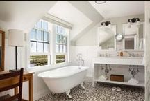 Bathrooms I Adore! / Beautiful bathroom inspiration.