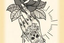 Oldschool Tattoo / Tattoo pins. Oldschool and nothing but oldschool.