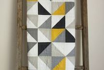 arts+crafts // quilts / Gorgeous quilt patterns. / by Oleander and Palm // Jeran