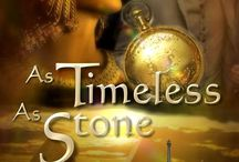Steampunk Time Travel Romance book Timeless As Stone