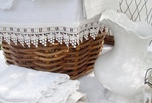 Linens and Lace, oh so pretty / by Carrie Glasgow