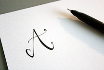 Fonts, Letters, etc..  / by Debi Hardison