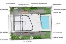 Proyecto internacional:jardín privado Amorebieta / Vistas render y bocetos de diseño para jardines de viviendas de lujo en Colombia