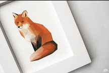 collections // foxes / A collection of all of my cute foxy finds. / by Oleander and Palm // Jeran