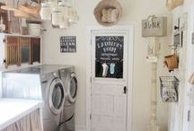 Laundry Rooms / Laundry room inspiration