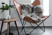 home // living room / Inspiration for making a more modern living room.