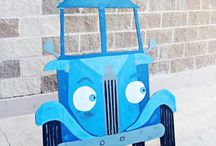 Caden's First Birthday-Little Blue Truck / by Lexi Commander