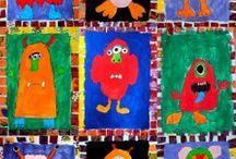 Art - monsters