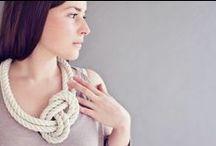 fibre jewellery.