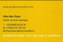 Visitekaartjes / Businesscard from all the jobs I had in my professional career. Kind of like a visual resume ;)
