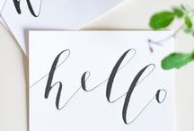 GRAPHIC | Calligraphy