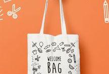 GRAPHIC | Tote bags, shopper