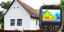 Isoler sa maison / Isolation des Combles - Isolation par l'Intérieur - Isolation par l'Extérieur - Caméra thermique - Isolants