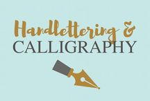 Handlettering and Calligraphy / Handlettering and calligraphy for beginners and experts. Find original alphabets fonts quotes tutorials, and practice ideas..