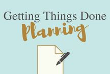 Getting Things Done planning / Getting Things Done planning gtd miracle morning organization planner quotes