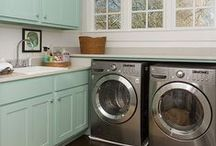 Fun Laundry Rooms / by Bet On Dinner