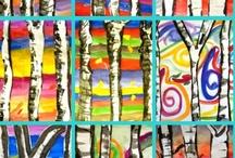 Art Teaching Elem. Ideas / by John Skrabalak