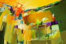 1. Abstract Paintings, Prints, Mixed Media(Encaustic, Acrylic, Watercolor, Pastel) / by John Skrabalak