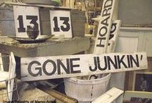 The Junktiquing Road / This board explores all the possibilities that lurk on the curbsides, the dusty thrift store shelves, amidst the bric a brac of life, beneath the castoffs of those gone before, bringing life, light, beauty, and repurposed meaning to seemingly mundane objects.  To further explore this road, please visit my blog at http://2ndhandroses.com and pick up a copy of my book: Second Hand Roses: The Junktiquing Road. / by Dawn Edwards