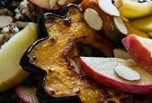 FALL RECIPES / It's an extravGOURDanza!  From pumpkins to all varieties of squash, Fall presents us with lots of antioxidant packed vegetables to prepare our immune systems for the coming Winter.  Let's get cooking!  NALLSCROPSHARE.COM