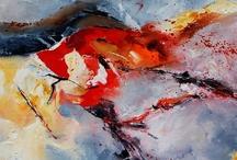 4. Acrylic, Watercolor, Oil, Pastel Paintings + Prints 4 / by John Skrabalak