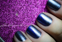 ♥ My Nails ♥ / Nail designs and nail polishes swatches - on my own nails - www.goldandsilversparkles.com