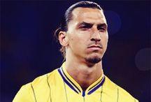 Zlatan Ibrahimovic / by Elise .