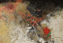 4. Encaustic Paintings 4 / Encaustic, Mixed Media Paintings, 3D Art / by John Skrabalak