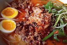 Ramen and Dim Sum / Oodles of noodles and dumplings.