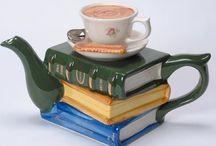 Novel-tea-pots / Furniture shaped ceramic teapots