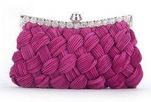 Evening Handbags & Satin Clutches / Elegant Clutches & Dressy Handbags.