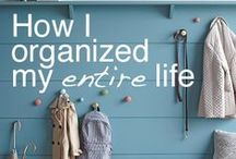 Organization Inspiration / I love being organized.  Here are some ideas to help!