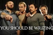 Write On! / Motivation to keep writing, plus links to useful creative writing advice.