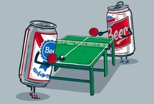Beer Pong Fun / Play better Beer Pong! Get the Beer Pong Tips and buy Beer Pong Equipment on a Budget!