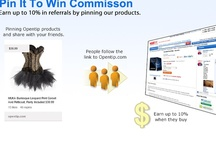 Pin It To Win It / Pin or repin products you found on www.opentip.com to win commission or coupon! Sharing Opentip products & get Savings, Why NOT? Just Follow Us & Pin It Today!