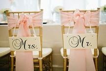 Wedding ♥ (Reception) / Miscellaneous bridal ideas I loved while planning our wedding!