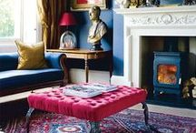 Colour / Make the most of your period home by incorporating a striking colour scheme