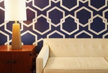 Transform Your Home With Self Adhesive Wallpaper / Self Adhesive Wallpaper has taken the work and worry out of wallpaper. This stuff applies to the wall with ease, and peels off whenever you want to change your decor.
