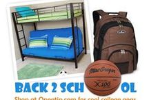 Back To School / Shop at Opentip.com for cool college gear!