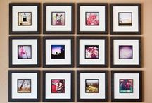 Picture Hanging Inspiration / Inspiration for hanging photos and artwork