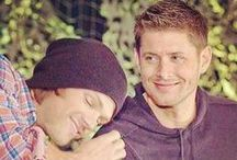 J2:  Jensen and Jared / Otherwise known as J Squared, the boys, or the Js. Pins of the boys together, usually off set. They have the cutest friendship ever.
