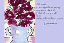 Haiga in Collaboration with... / Collaborative haiga, my art, their haiku
