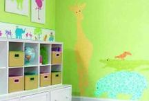 For the Kid's Room - Border Portfolio / These borders are great for children, young and old!