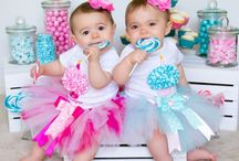 1st Birthday tutu outfits / Custom made 1st birthday tutu outfits  Http://www.christicreations.etsy.com / by ChristiCreations