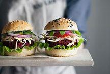 Burger & Sandwiches / Es lässt sich wohl nicht verheimlichen: wir sind süchtig nach Burger & Sandwiches. Hier gibts unsere Lieblingsrezepte // Yes, we might have a small burger & sandwich addiction.