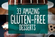 GF and DF Desserts / Recipes for living with a wheat and gluten allergy