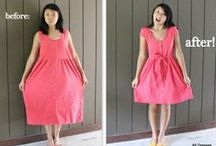 Upcycle Inspiration / Inspiration and ideas to repurpose, reconstruct, and upcycle clothing