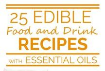 Essential Oil Food and Drink Recipes / Recipes that use essential oils