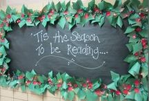 Winter Classroom Decor / Classroom decor for December, January and February! Bulletin Board ideas for winter, Christmas, New Year's, Valentine's Day, Presidents, and more!